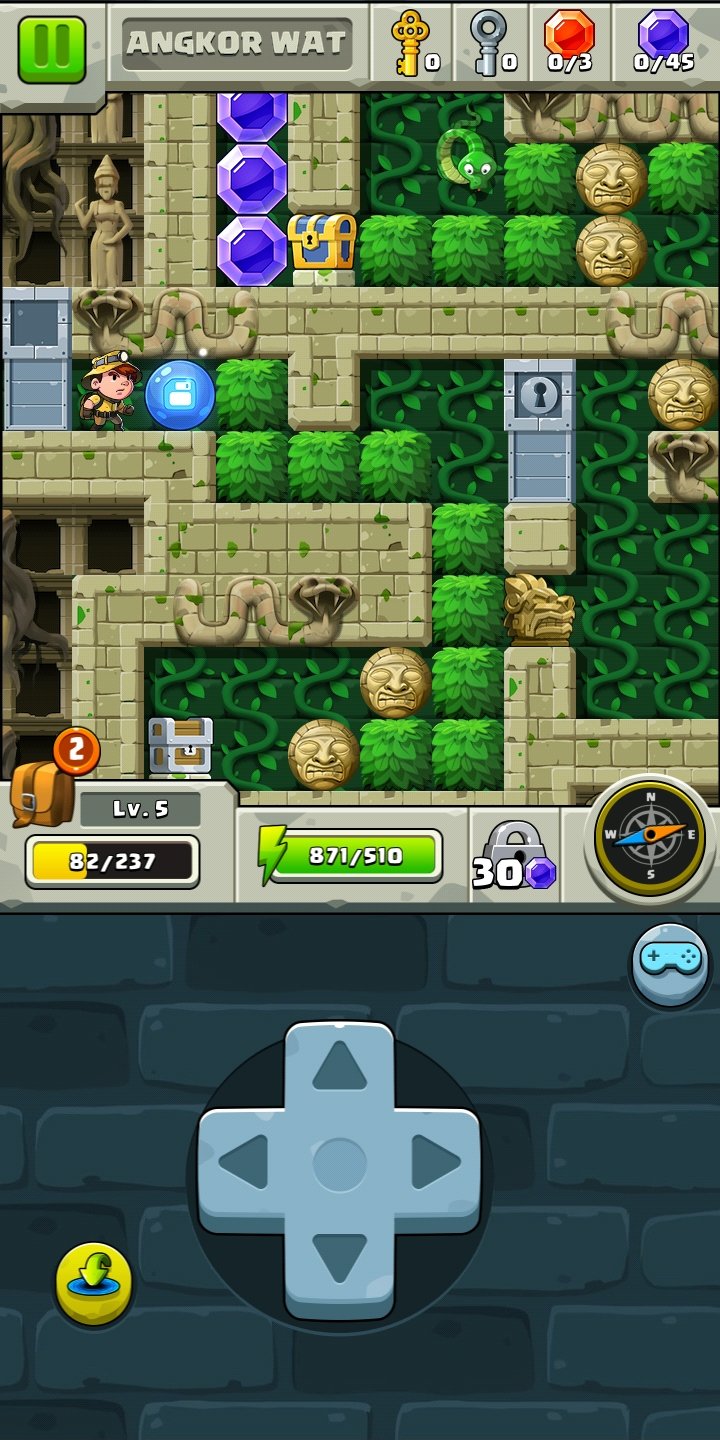 [Game Android] Diamond Quest: Don't Rush!